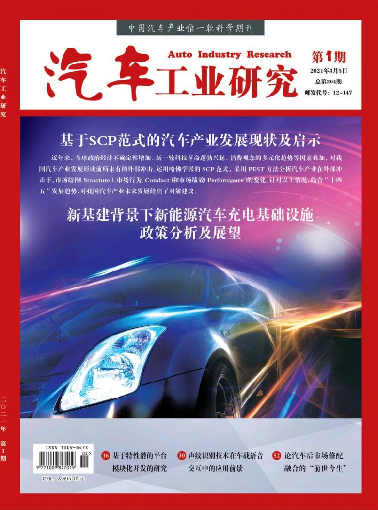 汽车工业研究