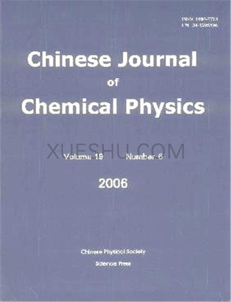 Chinese Journal of Chemical Physics