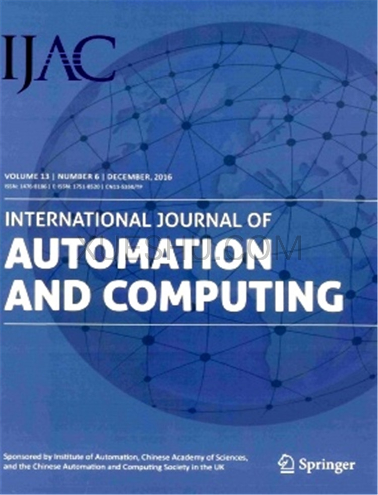 International Journal of Automation Computing