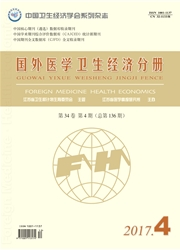 国外医学卫生经济分册