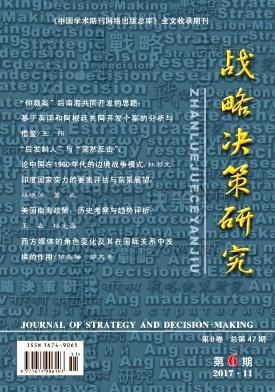 战略决策研究论文