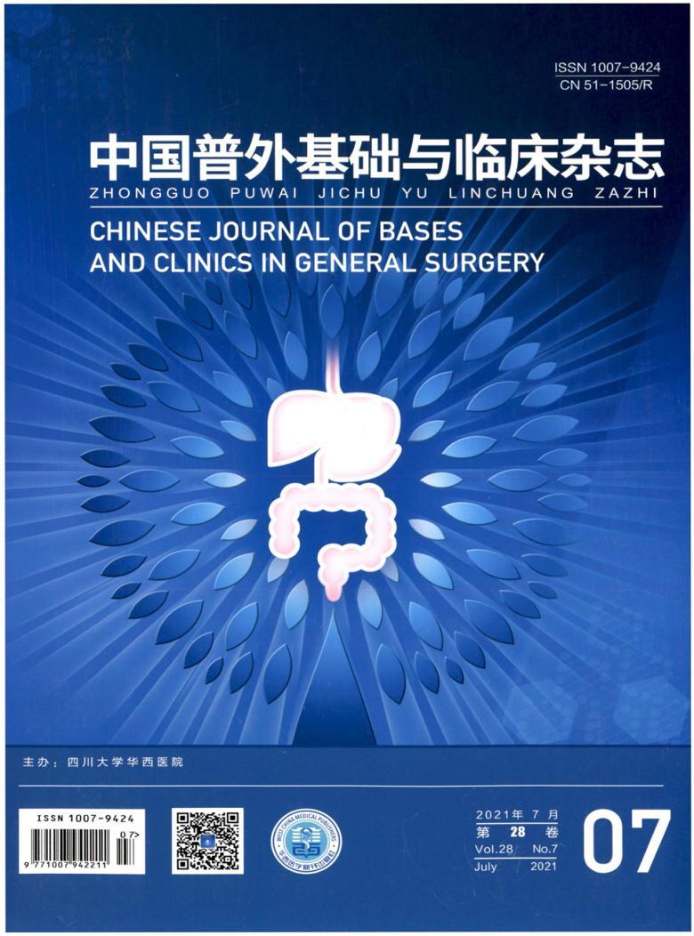 中国普外基础与临床