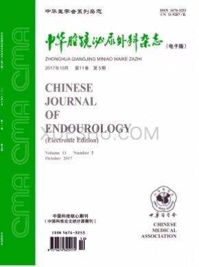 中华腔镜泌尿外科杂志
