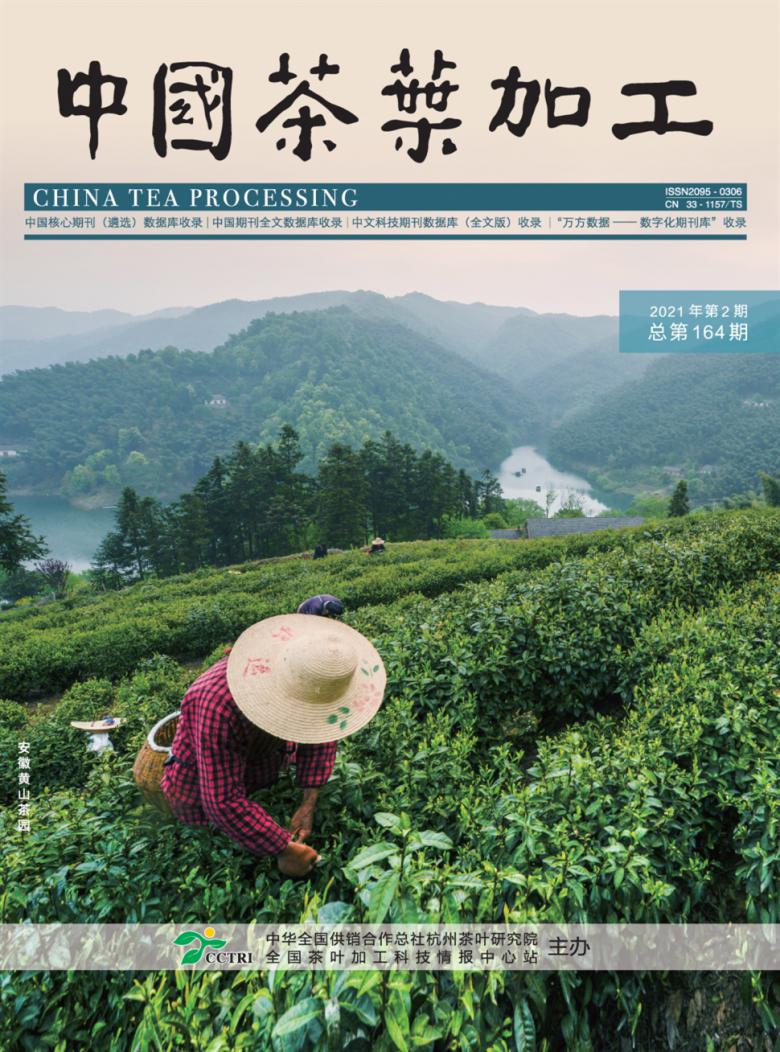 中国茶叶加工
