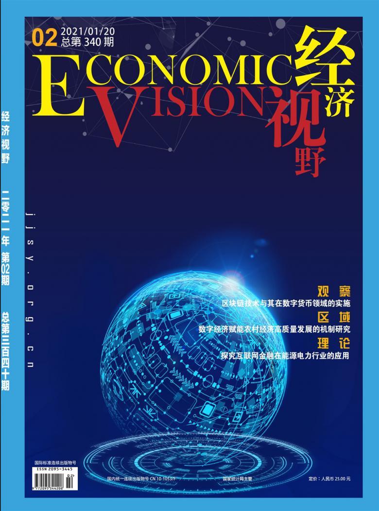 经济视野论文