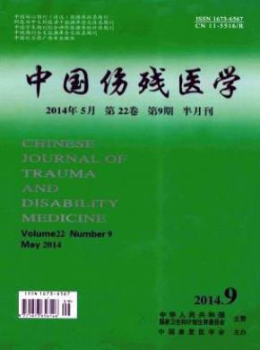 中国伤残医学杂志