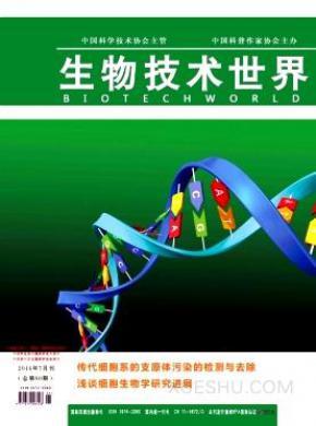 生物技术世界杂志