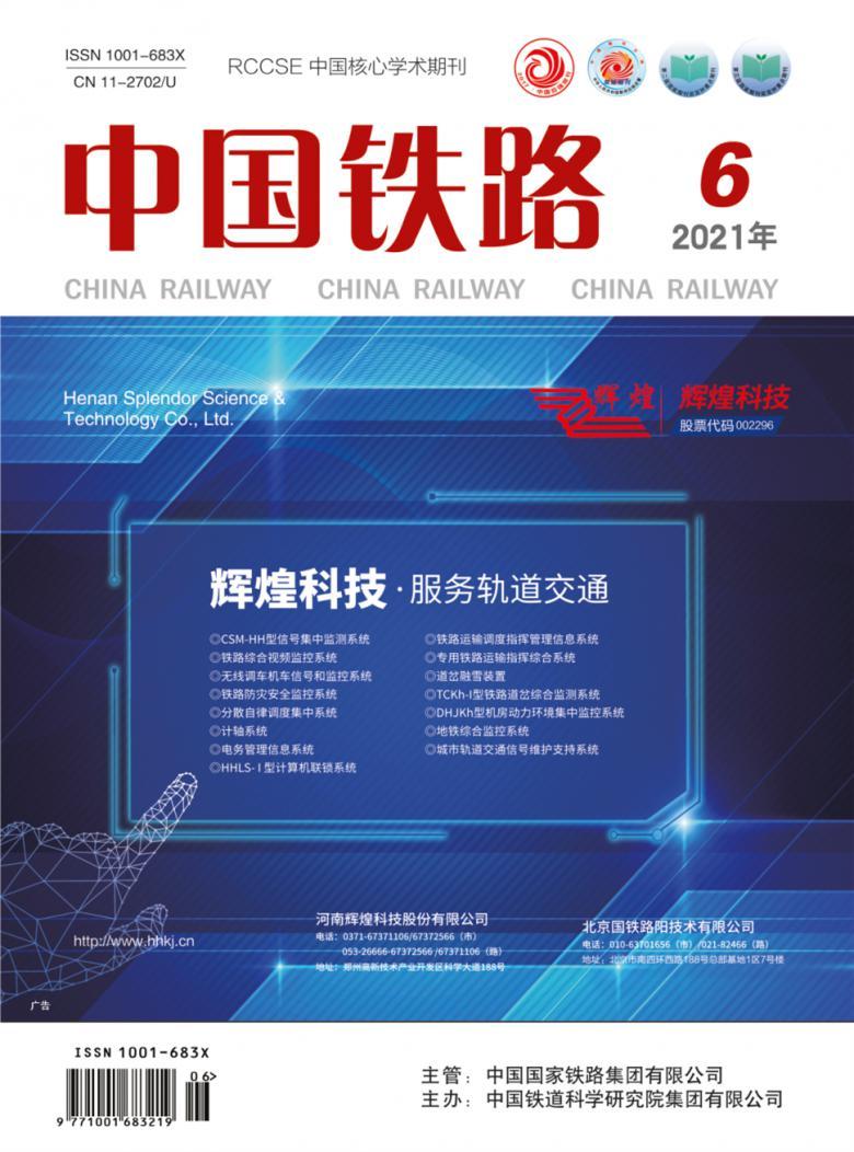 中国铁路论文