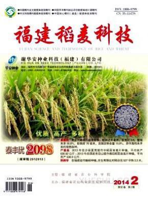 福建稻麦科技杂志