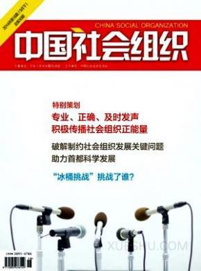 中国社会组织杂志